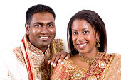 istock Good Looking Couple in Authentic Indian Wedding Attire 182201347