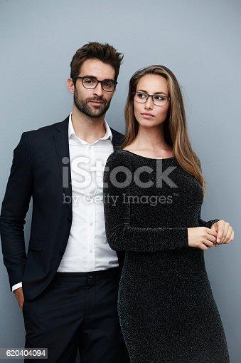 620404536istockphoto Good looking couple in glamorous clothing 620404094