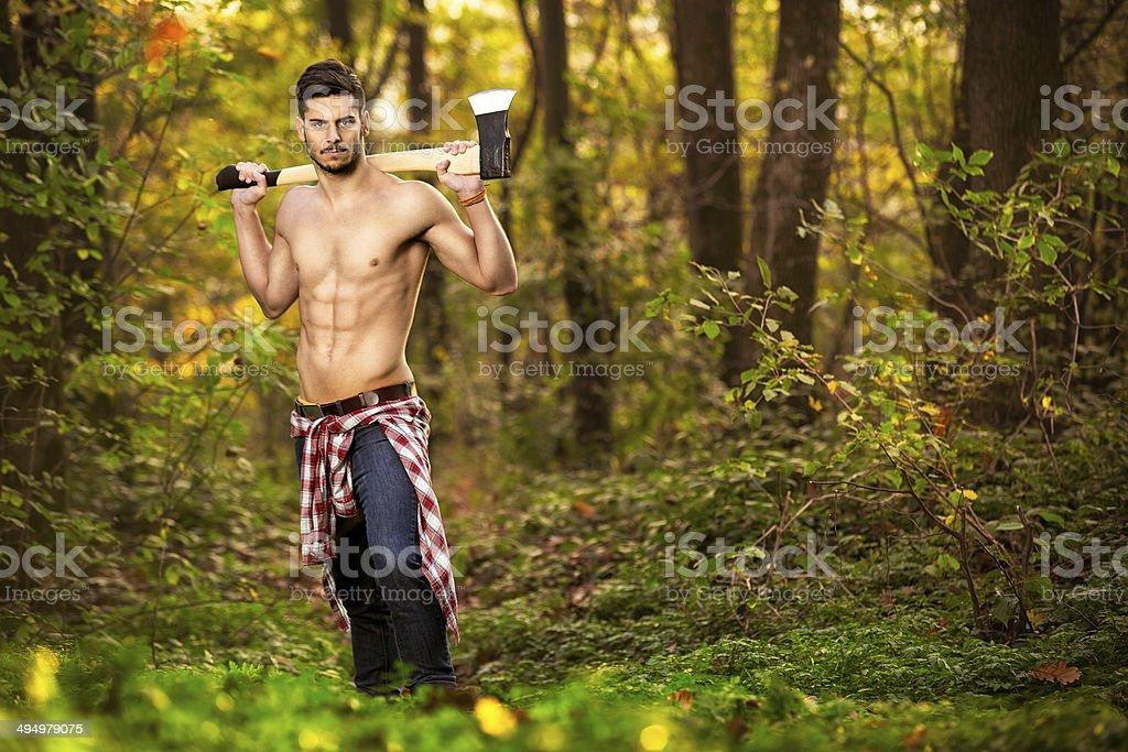 Dobry Patrząc człowiek z Siekiera – zdjęcie