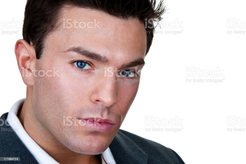 Good looking young man royalty-free stock photo