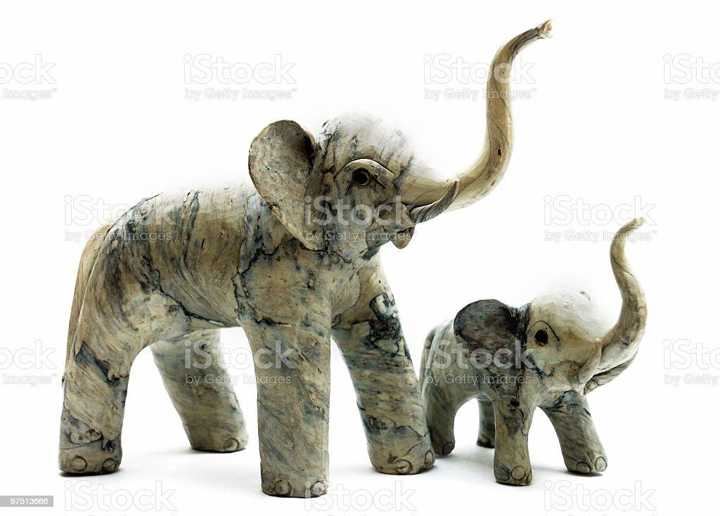 Good Luck Elephants royalty-free stock photo