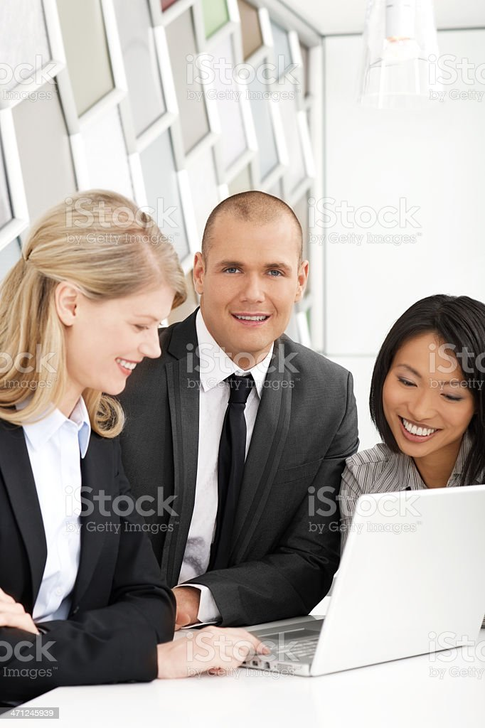Good meeting royalty-free stock photo