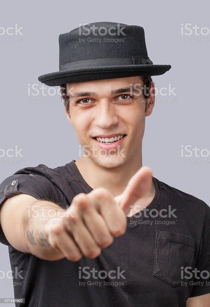 Good men stock photo