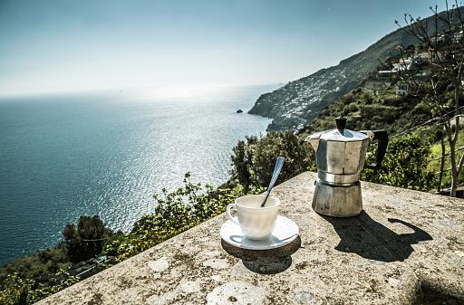 Good morning Amalfi coast