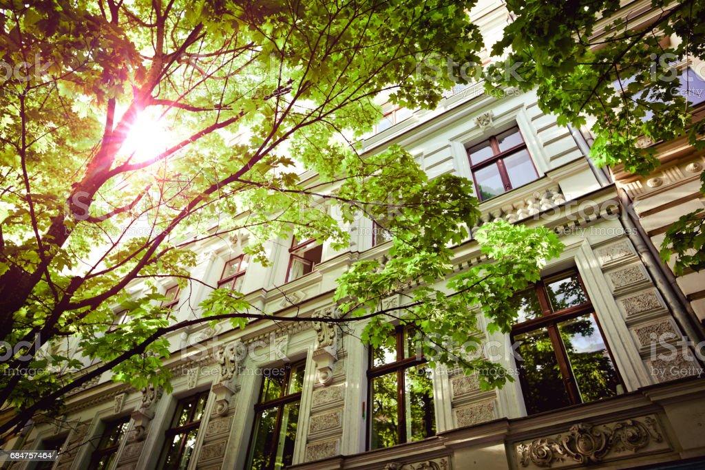 Guten Morgen Berlin, Mietshäuser in Berlin, Prenzlauer Berg – Foto