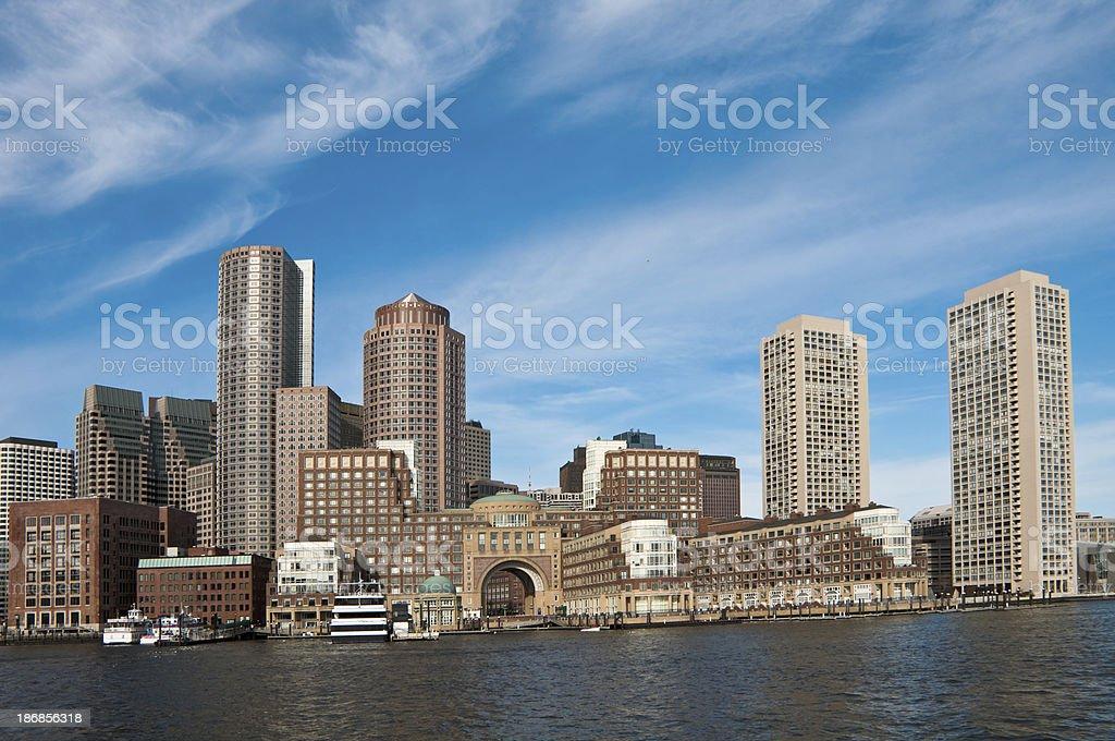 Good Morning Boston royalty-free stock photo