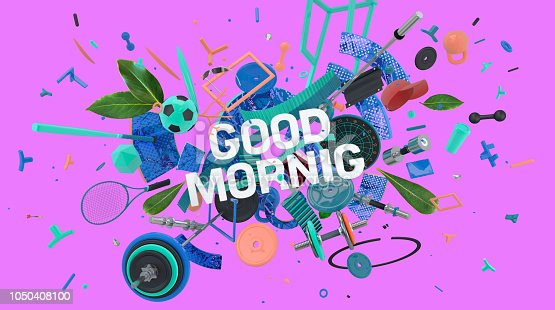 istock Good Morning card 1050408100