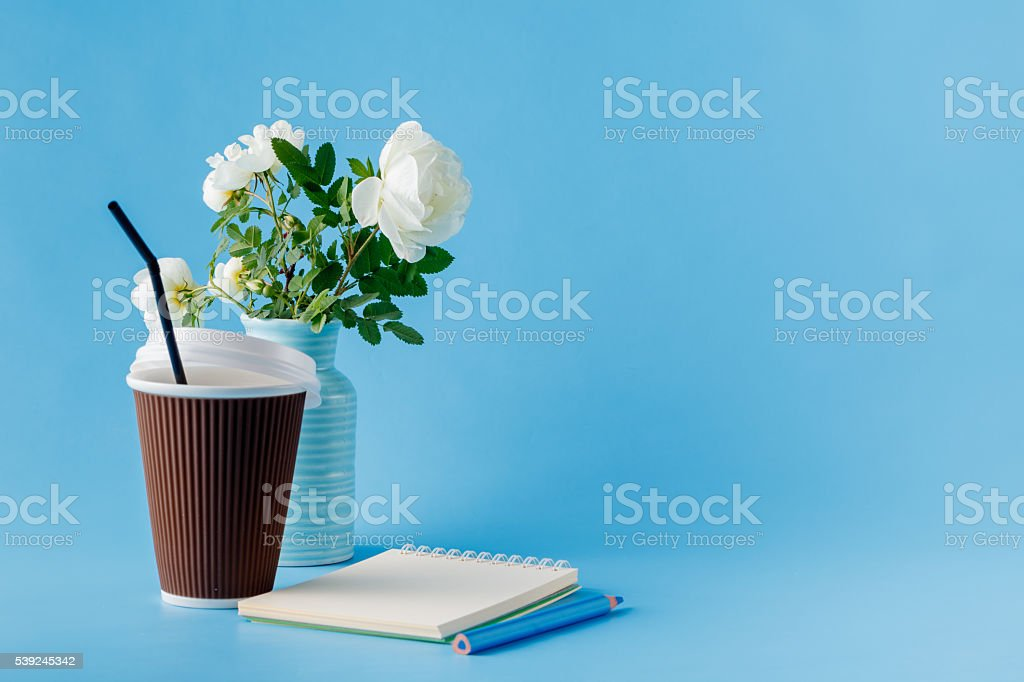 Good morning concept. Cup of coffee royalty-free stock photo