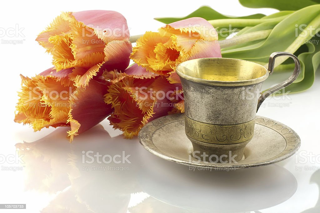 Good morning concept, isolated royalty-free stock photo