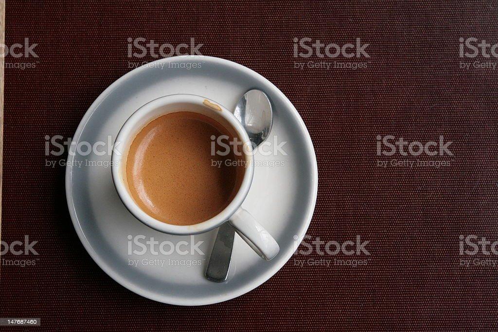 Photo Libre De Droit De Bonjour Tasse De Café Avec Cuillère