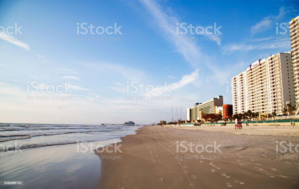 Good Morning Daytona Beach! stock photo