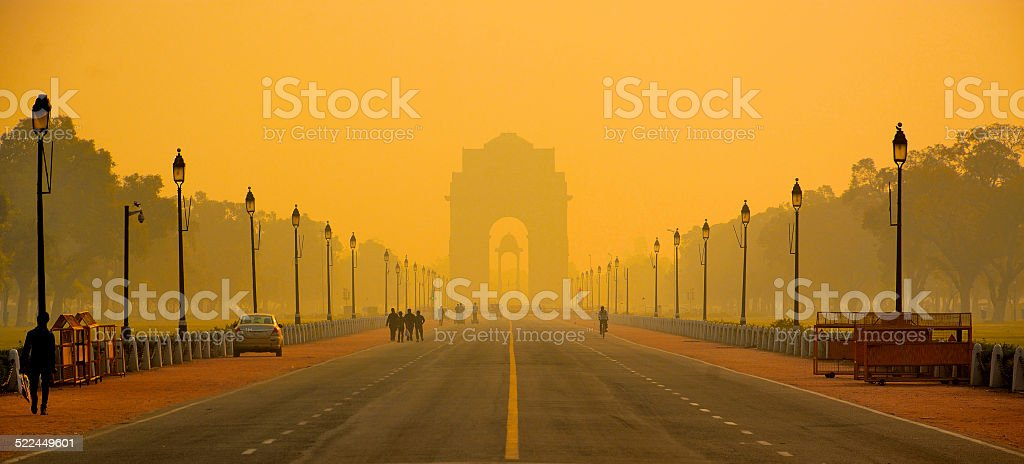 Good Morning Delhi stock photo