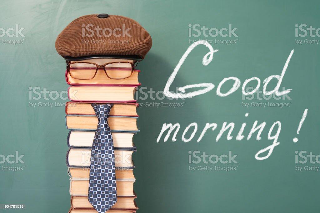 Guten Morgen Lustige Bildungskonzept Stockfoto Und Mehr