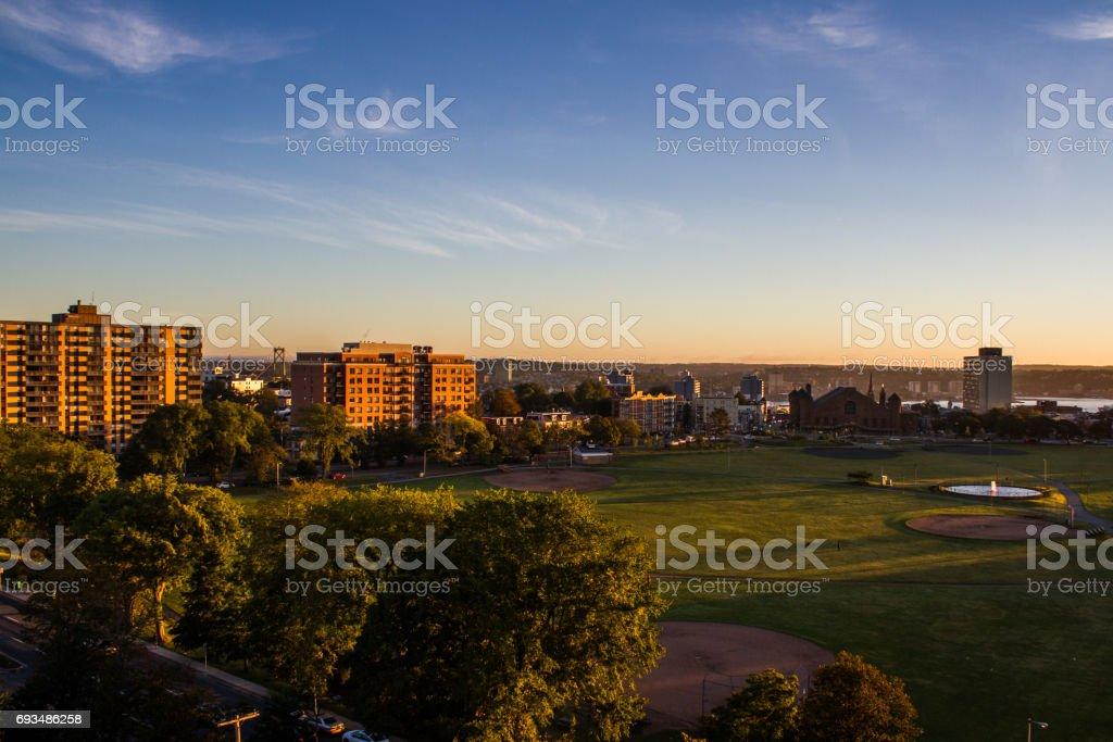 Good Morning Halifax stock photo