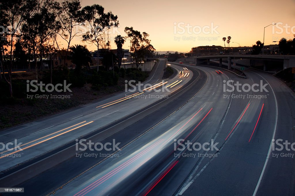 Good Morning Interstate 10 stock photo