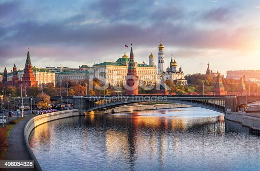 istock Good morning Moscow 496034328