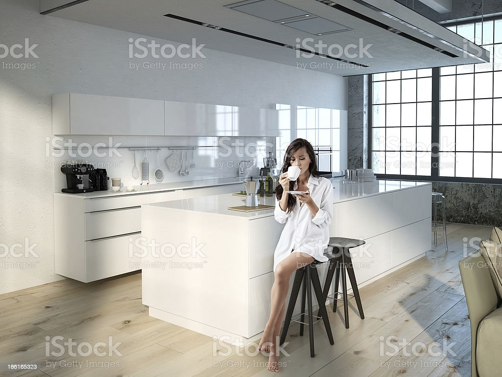 good morning stock photo