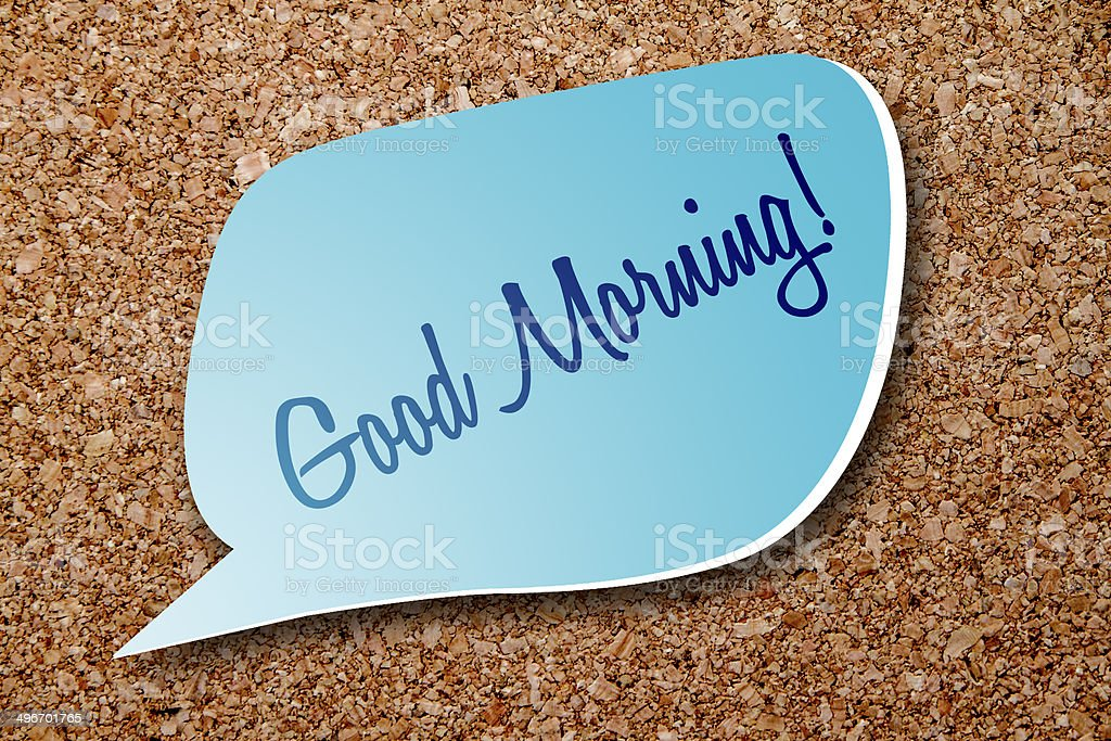 Good Morning! royalty-free stock photo