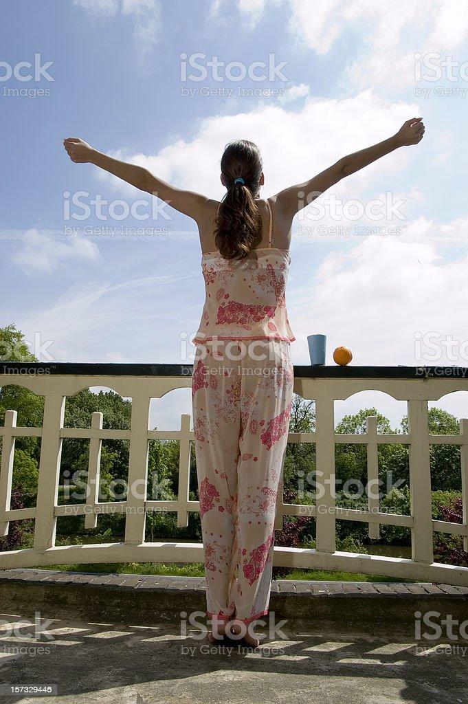 Good morning sunshine royalty-free stock photo