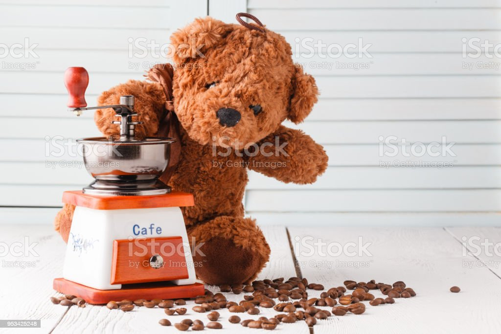 Good Morning With Teddy Bear Stock Photo More Pictures Of Animal