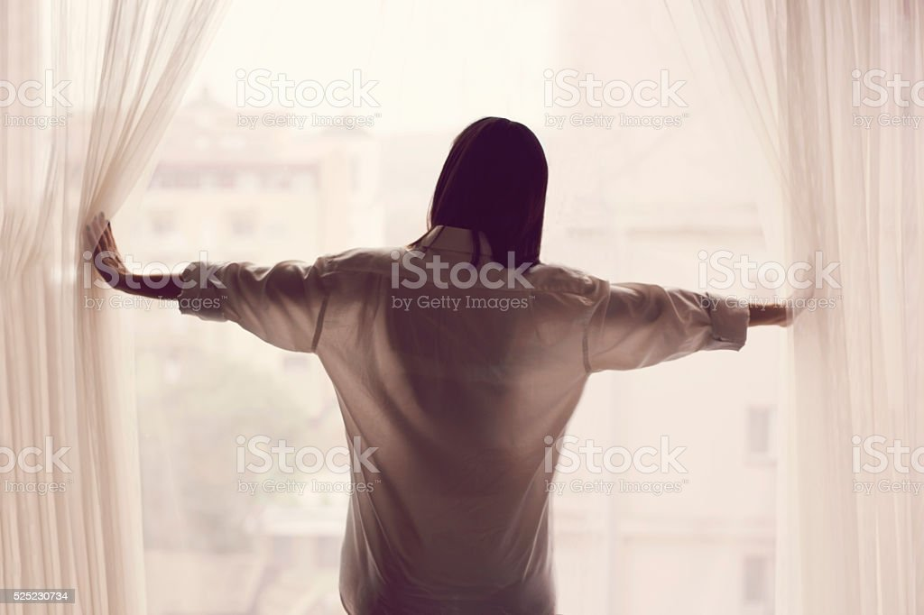 Good Morning World! stock photo