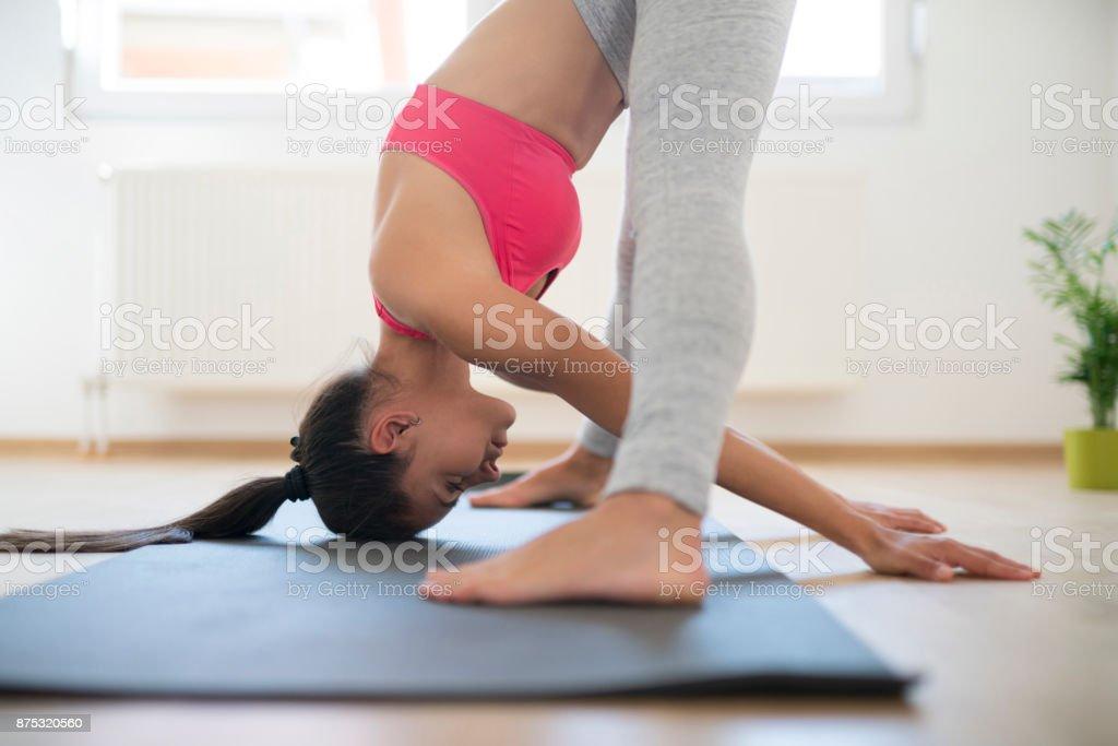 Guten Morgen Yoga Stockfoto Und Mehr Bilder Von Athlet Istock
