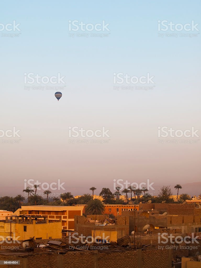 good morning,Luxor royalty-free stock photo