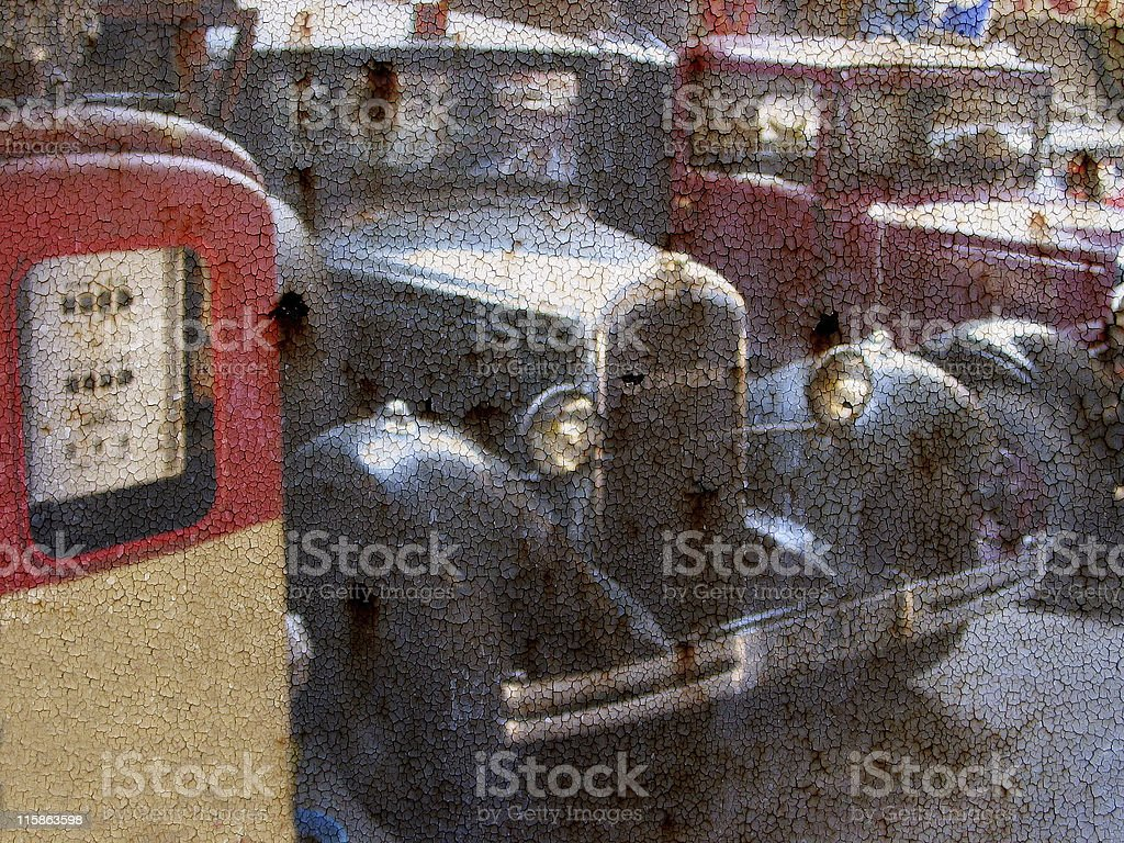 Good old days royalty-free stock photo