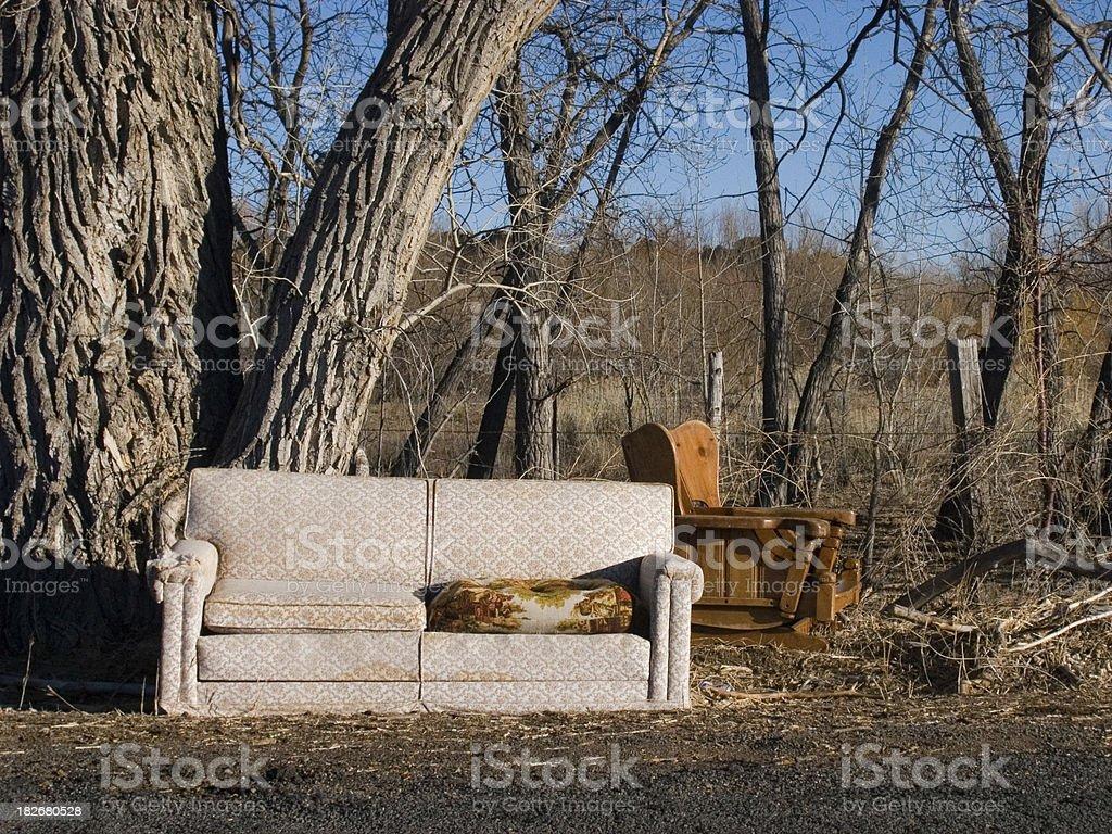 Good spot to sit 2 royalty-free stock photo