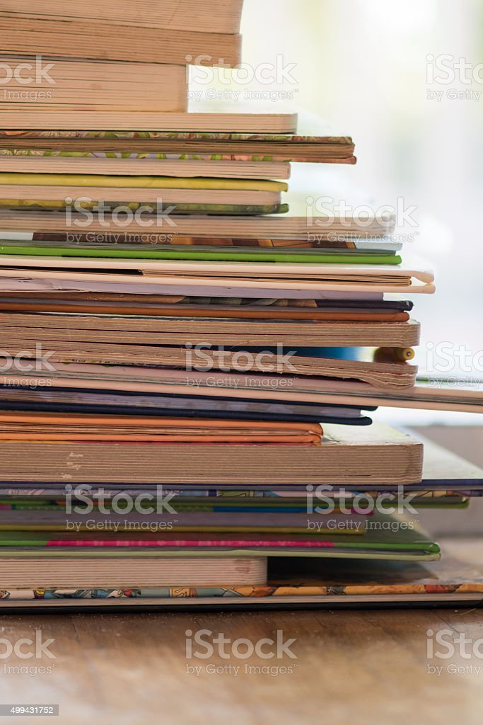 Good Stack of Books 2 stock photo