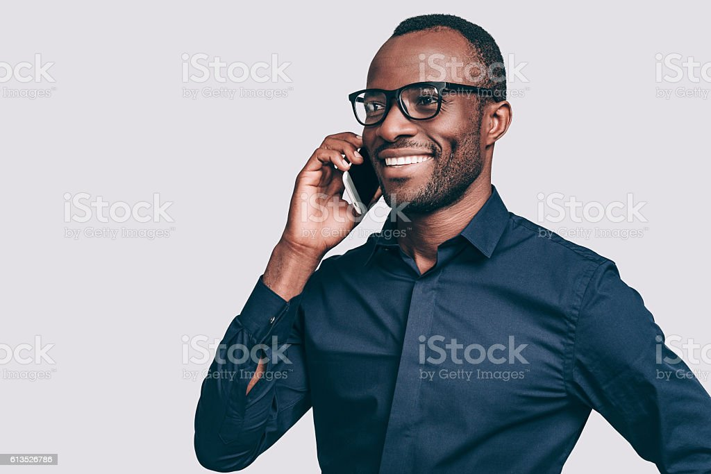 Good talk. stock photo