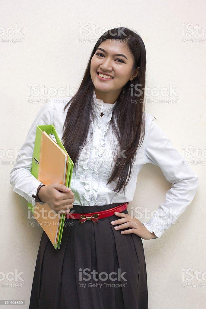Good  Teacher royalty-free stock photo