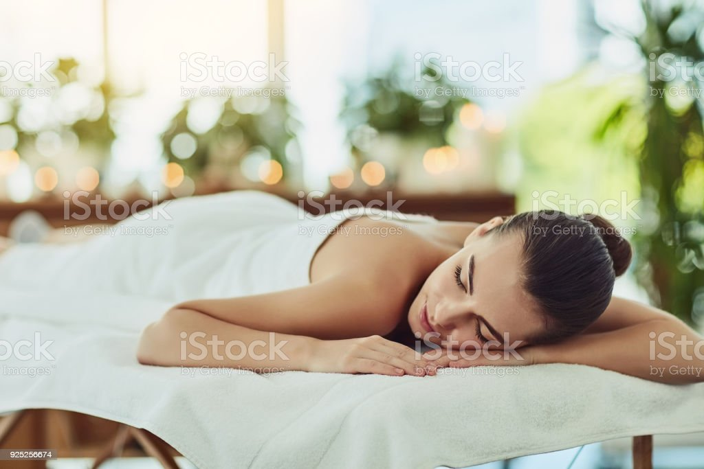 Good things come to those who relax stock photo