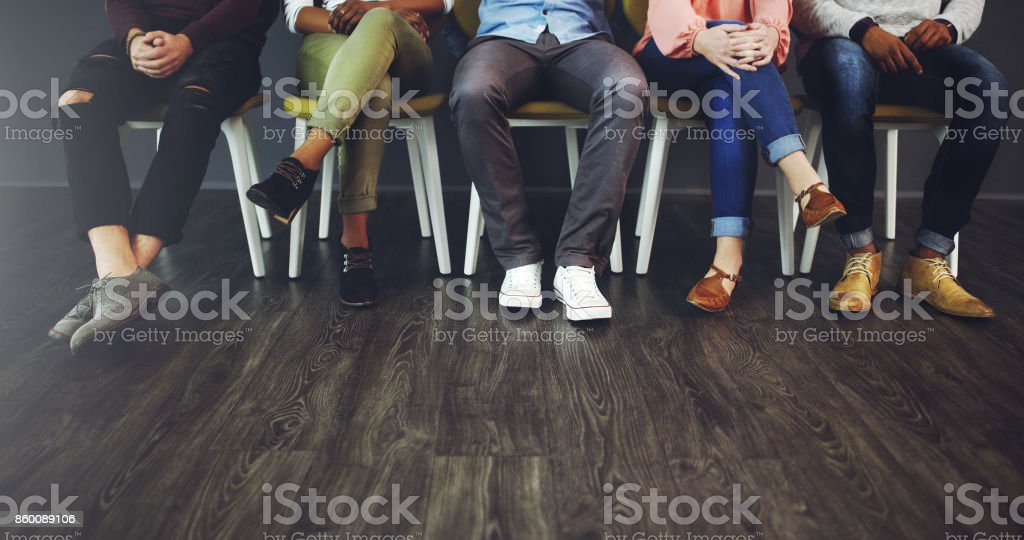 Good things come to those who wait stock photo