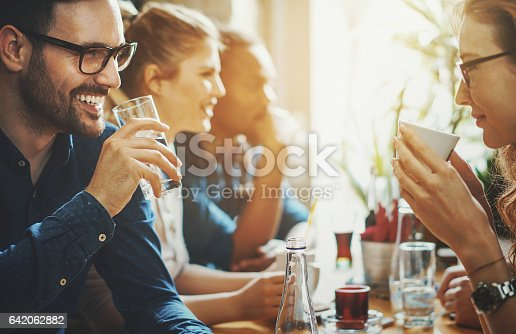 istock Good times at a restaurant. 642062882