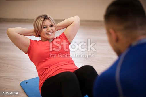 istock Good to have support in work on yourself 512272734