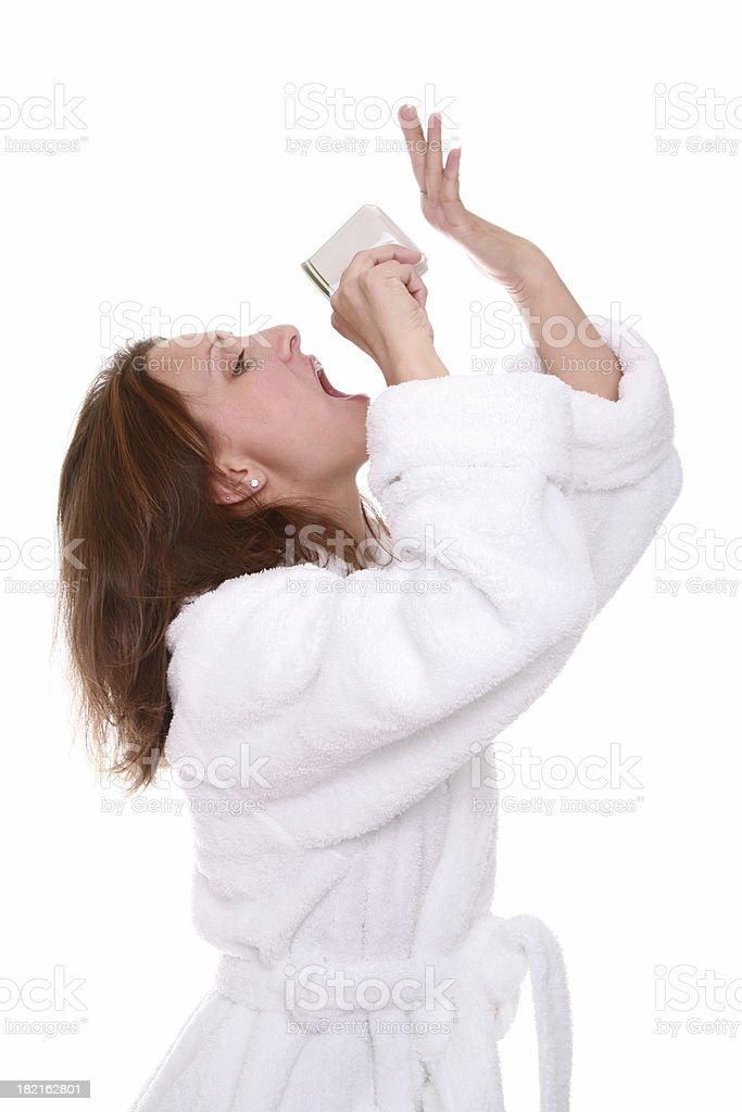 Good To The Last Drop royalty-free stock photo