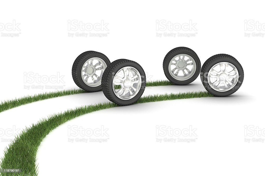 Good wheels. royalty-free stock photo