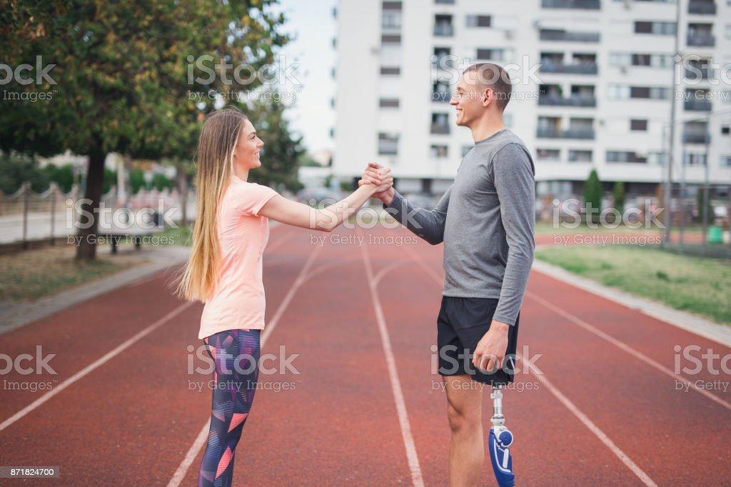 Gutes Training – Foto