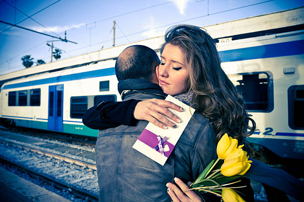 goodbye my love - detachment stock pictures, royalty-free photos & images