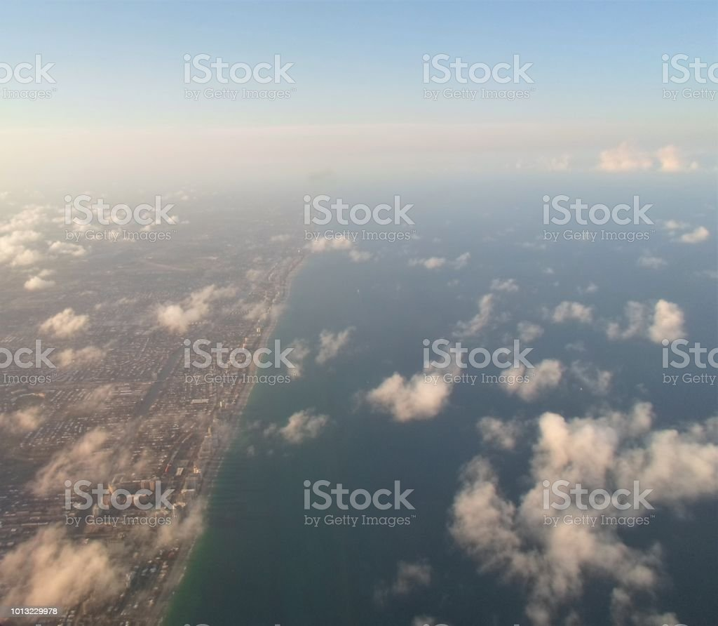 Good-bye West Palm Beach! stock photo
