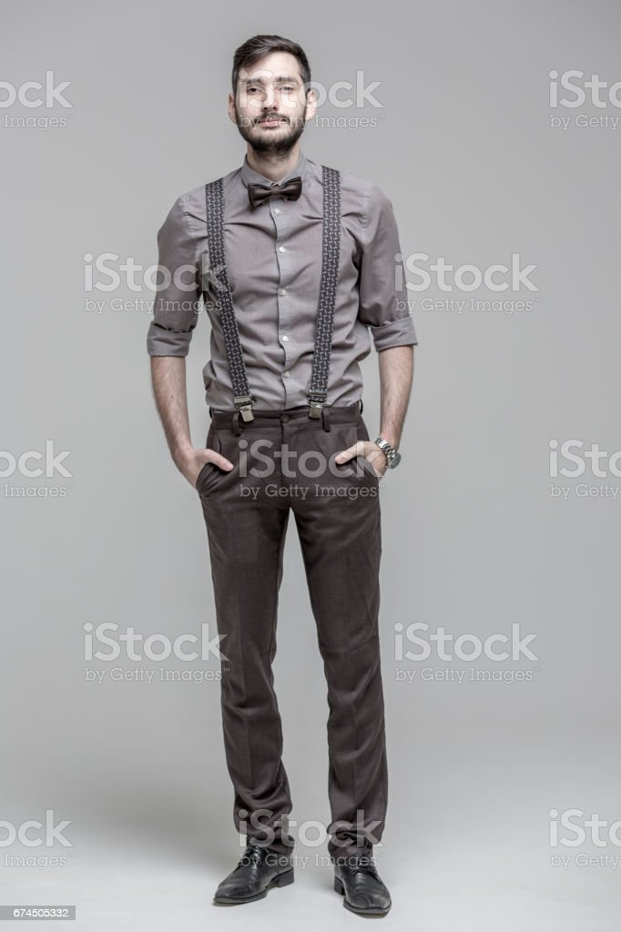 Beau homme barbu - Photo