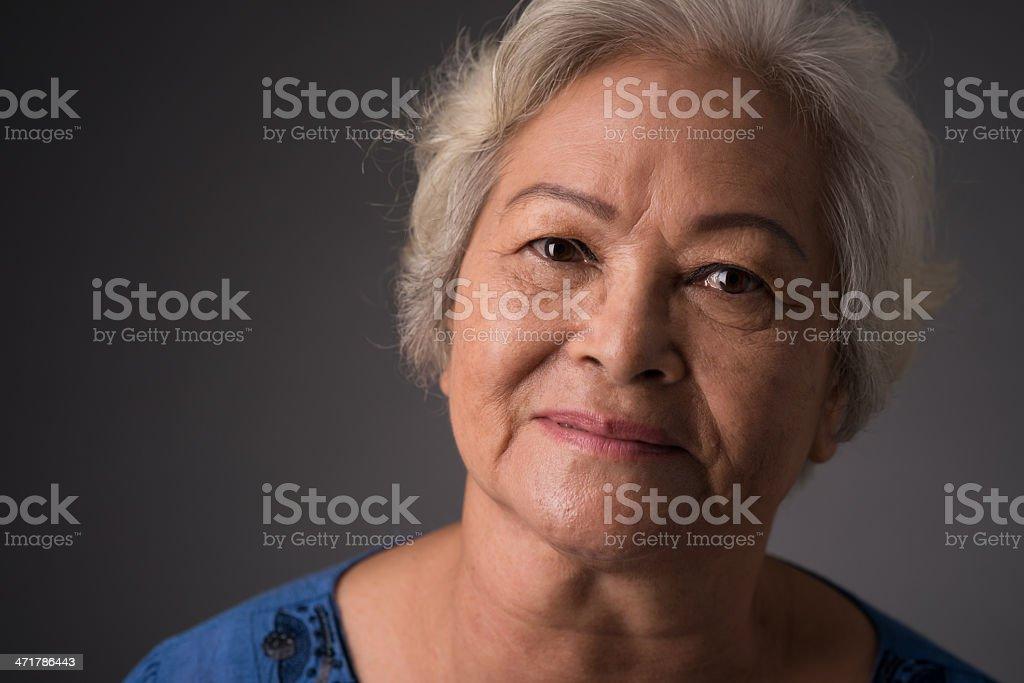 Good-looking woman stock photo
