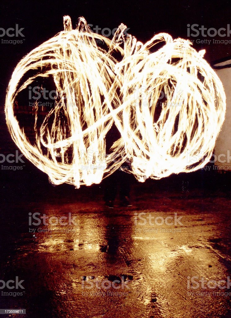 Goodness Gracious Great Balls of Fire stock photo