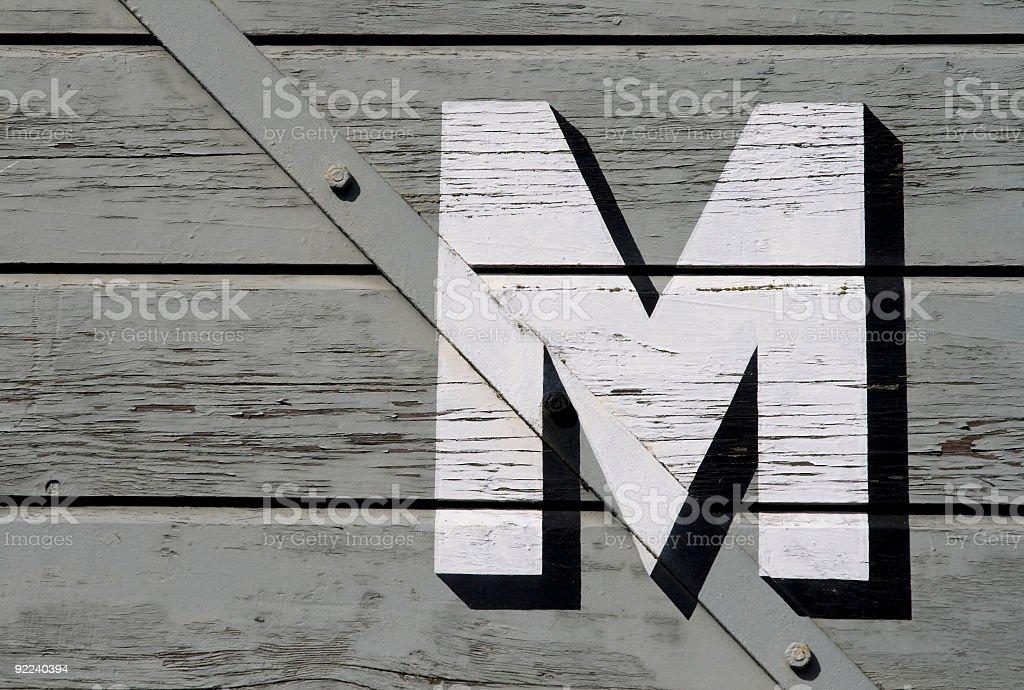 Goods wagon door royalty-free stock photo