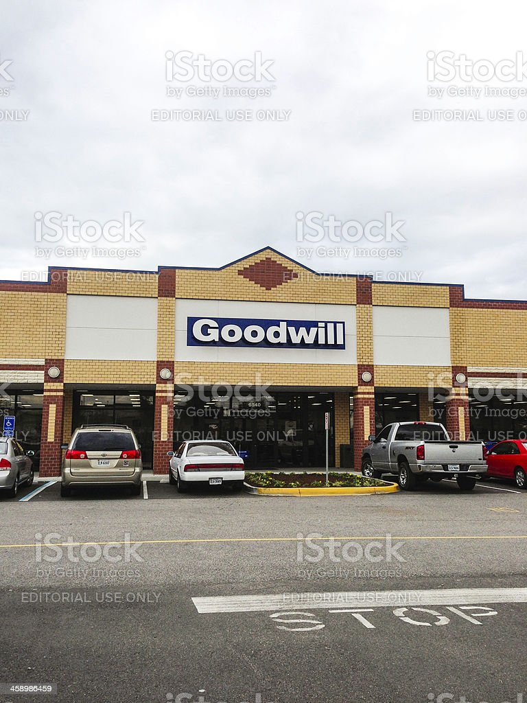 Goodwill Store in Suffolk, Virginia royalty-free stock photo