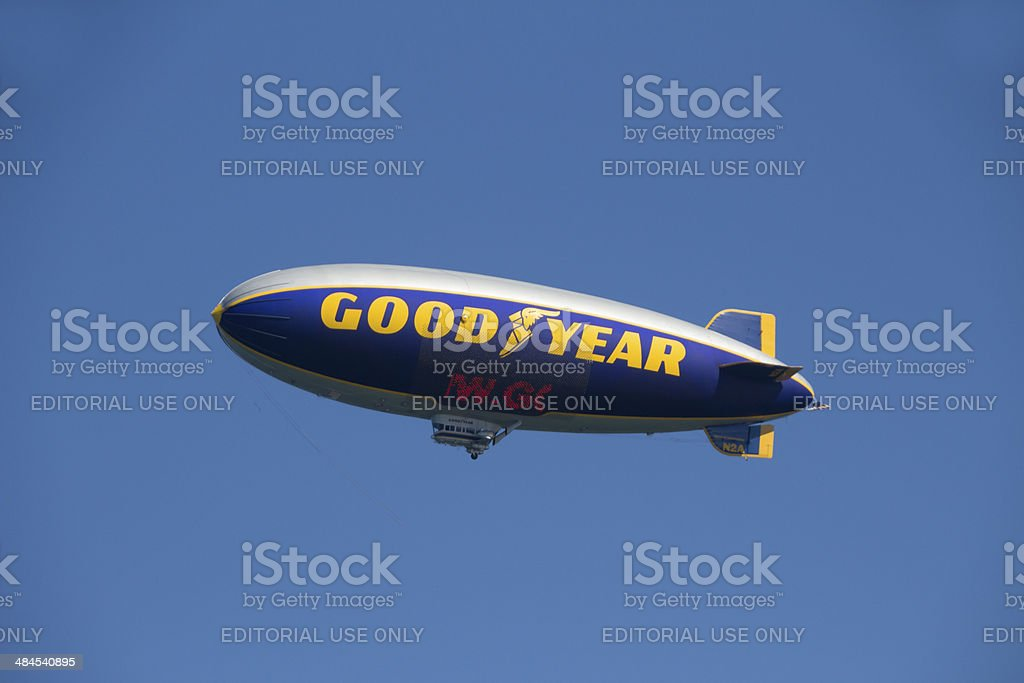 Goodyear Blimp stock photo