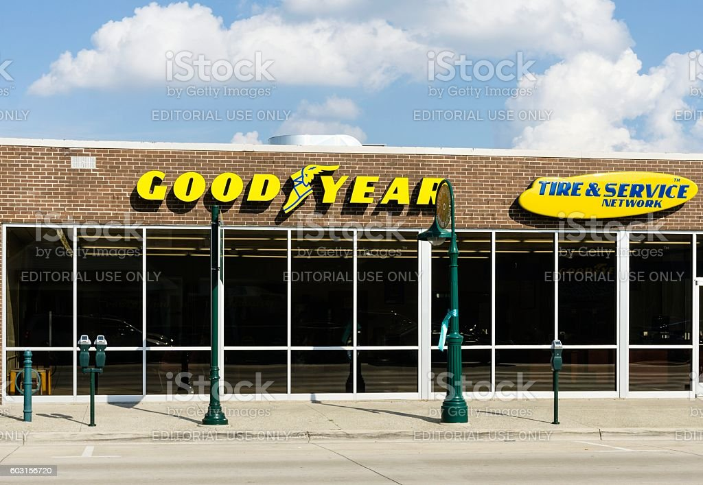 Goodyear Tire & Service stock photo