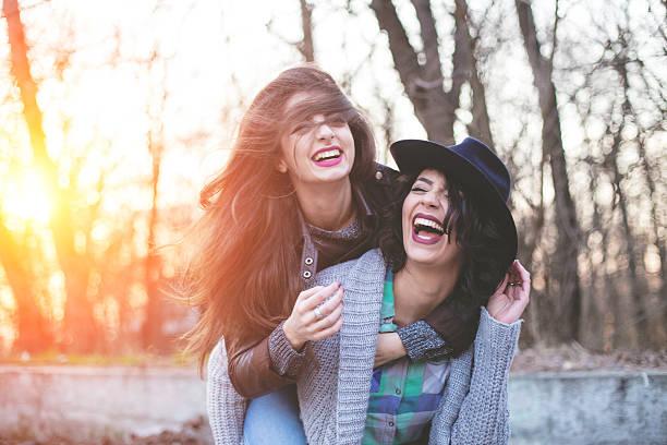 goofing around - happy indie pop bildbanksfoton och bilder