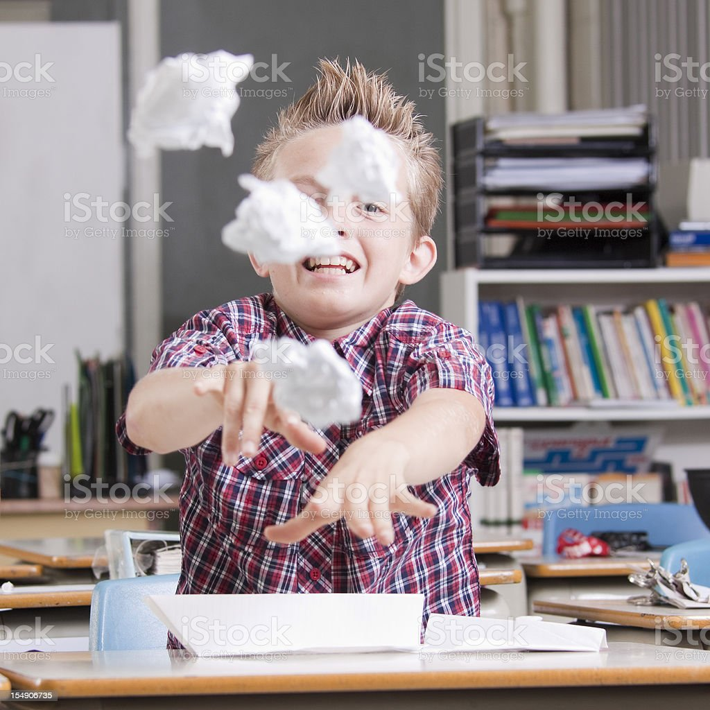 Goofing Off In Class Stock Photo - Download Image Now - iStock